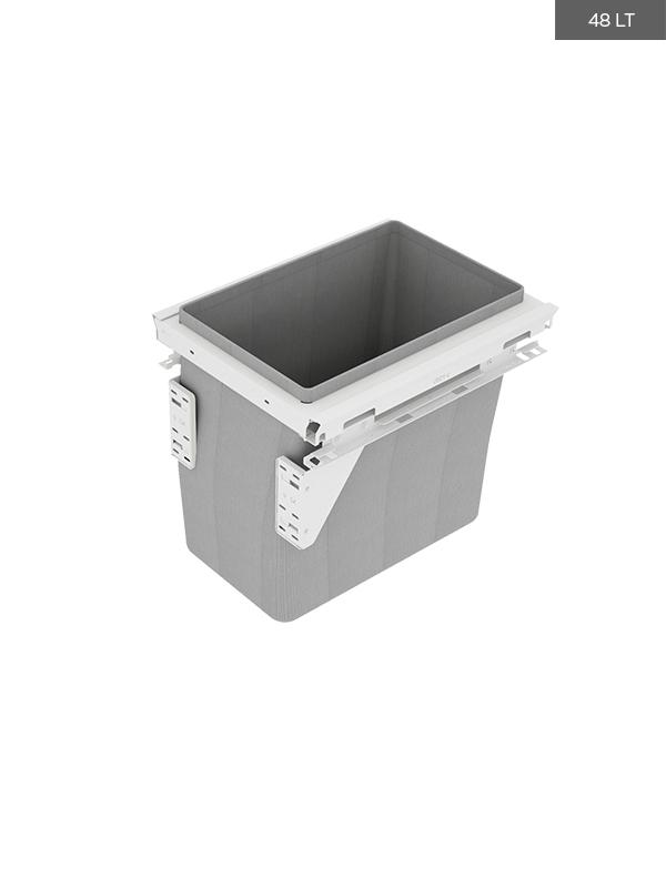 511U 45 Laundry portabincheria gris