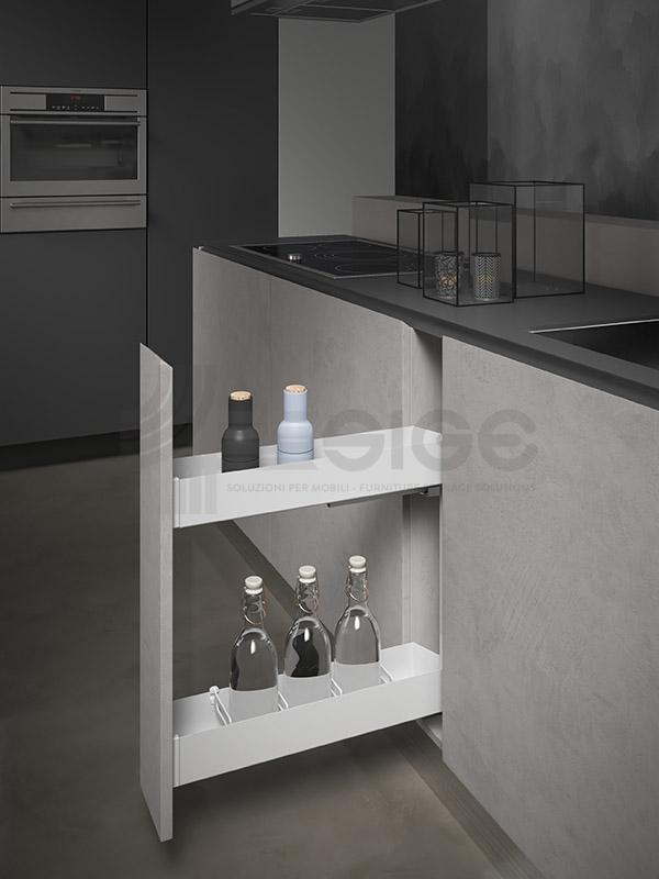 SIGE 002PRO white cestello estraibile cucina