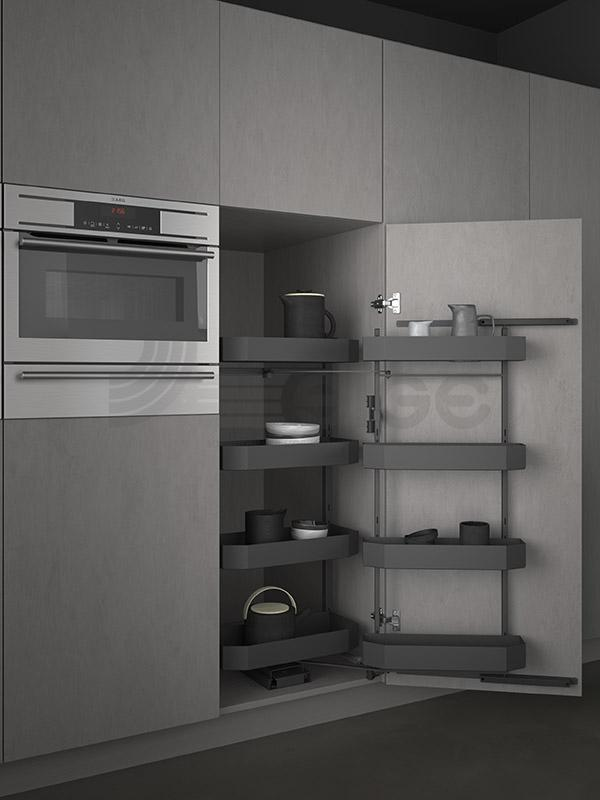 SIGE 230BPRO colonna attrezzata estraibile cucina
