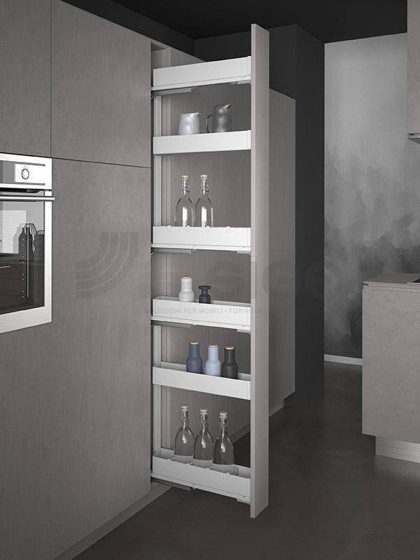 SIGE 249PRO cestello estraibile cucina white