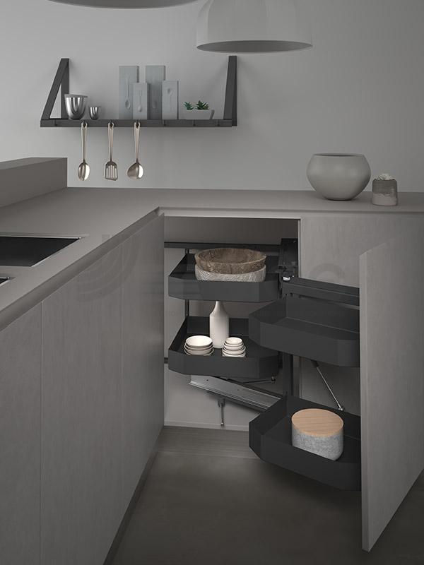SIGE 350PRO angolo base etraibile cucina