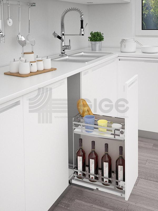 Sige 007+ cestello accessorio cucina