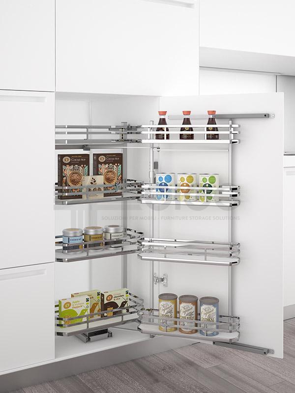 SIGE 230B+ colonna attrezzata estraibile cucina