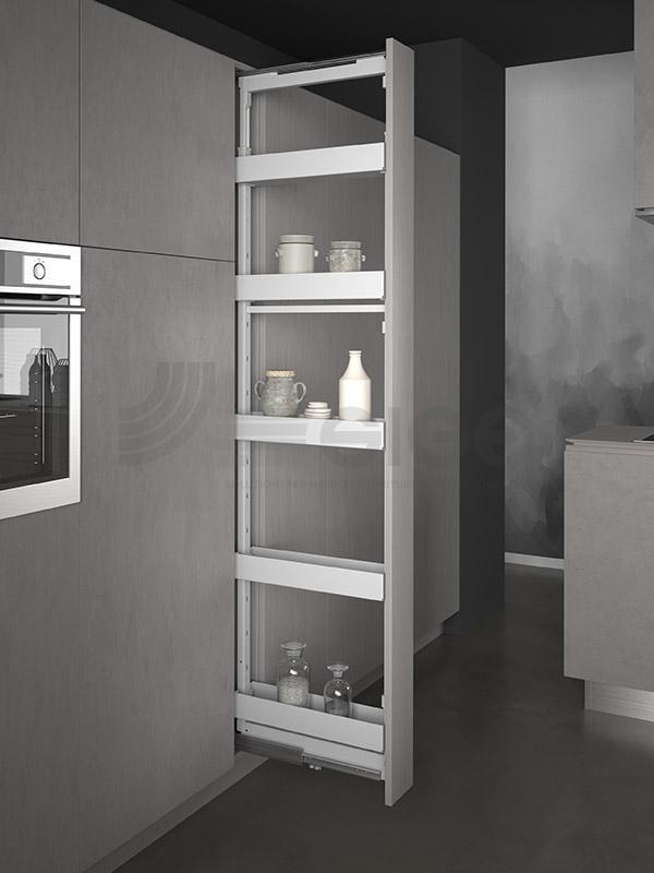 SIGE 258PRO colonna estraibile cucina white