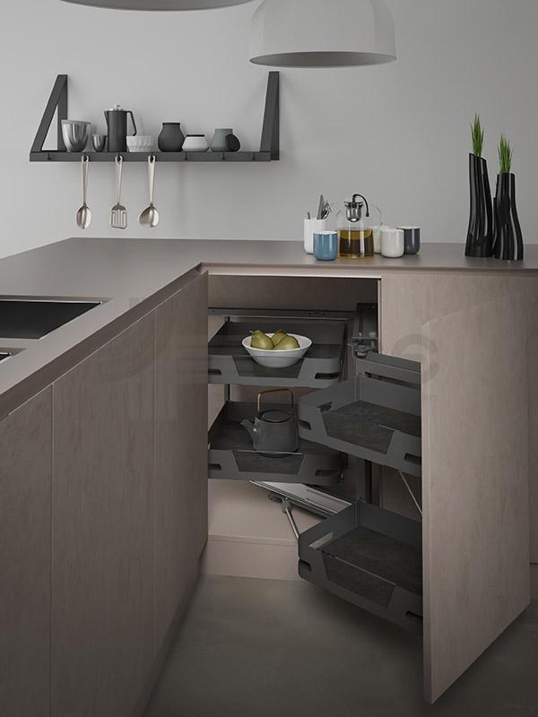 SIGE 350ME angolo estraibile cucina