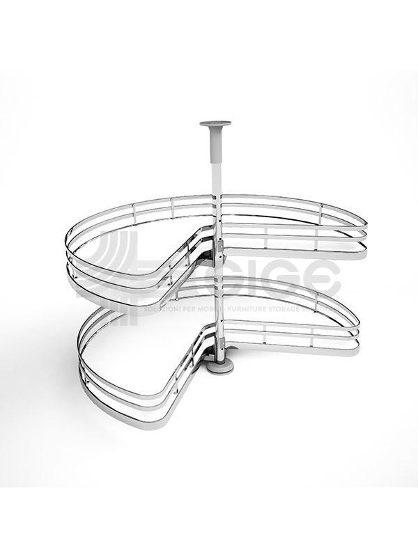 Sige 361 infinity plus sistema girevole angolo base cucina