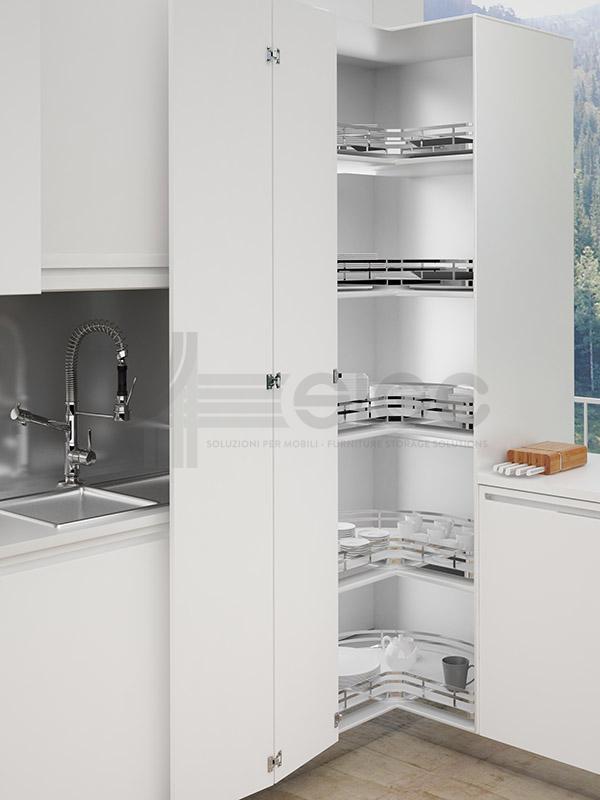 Sige 363 +90° sistema girevole con piasta cucina