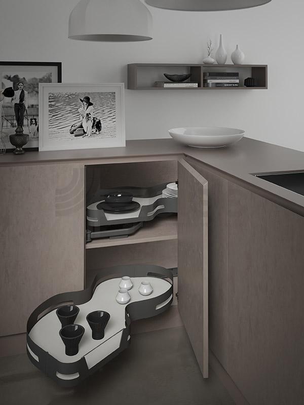 SIGE 371ME angolo sinistro accessorio cucina