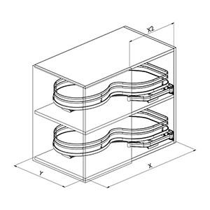 Sige 371 angolo cucina disegno tecnico