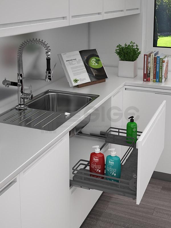 Sige 700+ cassetto superiore sotto lavello cucina