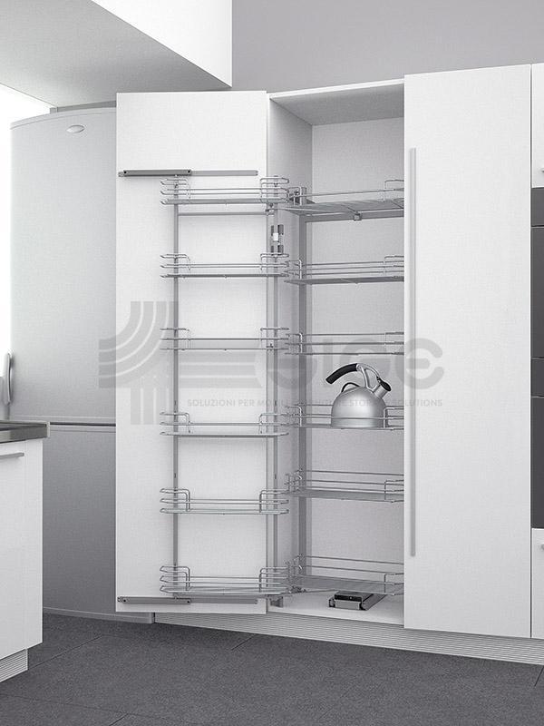 230A colonna attrezzata estraibile cucina