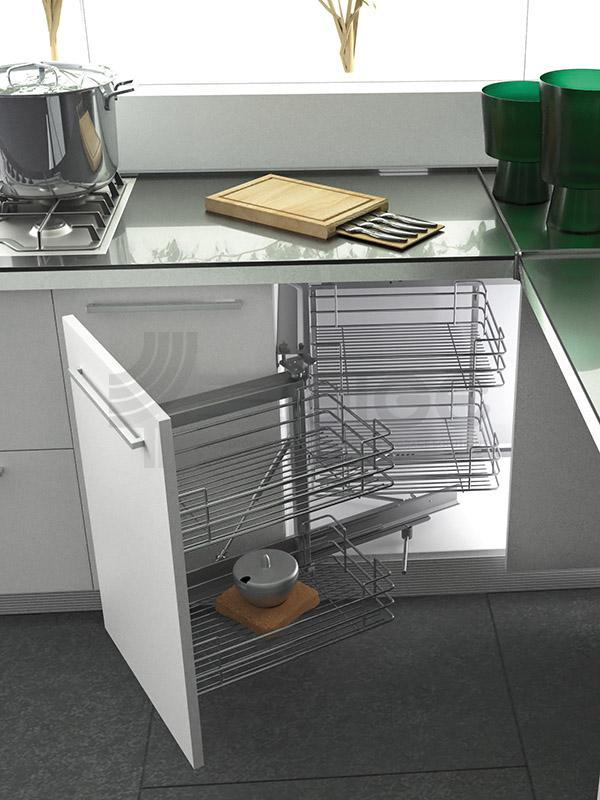 350G meccanismo-estraibile per angolo cucina