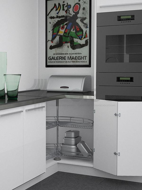 361G sistema-girevole sige angolo base cucina