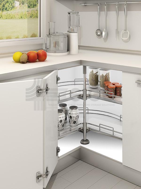 363i sistema girevole cesti angolo cucina