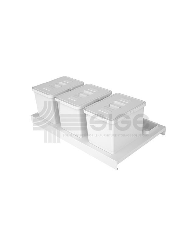720B kit sottolavello white quadrifoglio