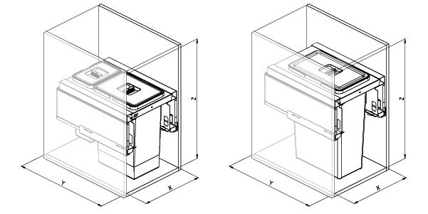 SIGE 550BL disegno tecnico