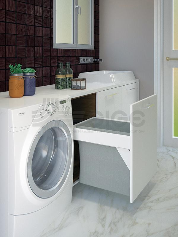 511U Laundry portabincheria